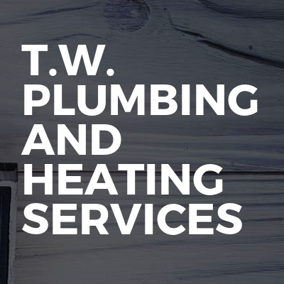 T.W. plumbing and heating services