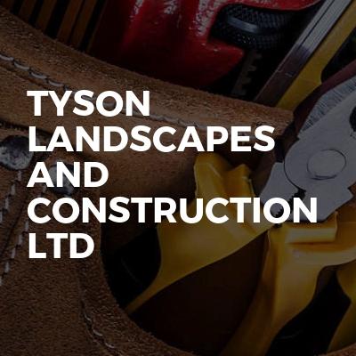 Tyson Landscapes and Construction Ltd