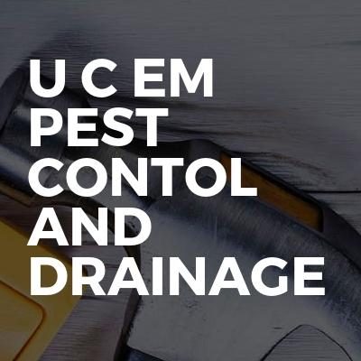 U C Em Pest Contol and Drainage