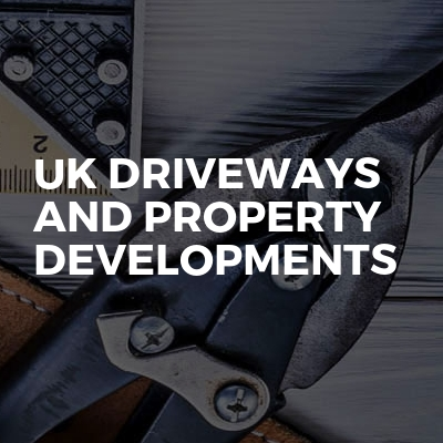 UK driveways and property developments