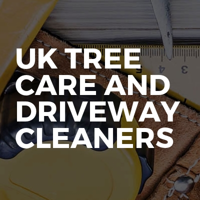 UK Tree Care And Driveway Cleaners