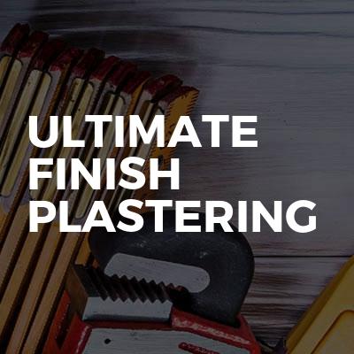 Ultimate Finish Plastering
