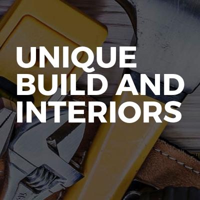 Unique build and interiors