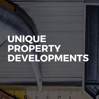 Unique property developments