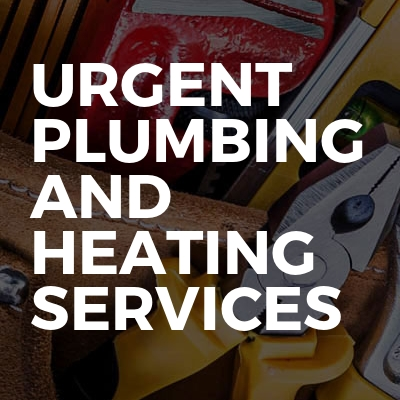Urgent Plumbing And Heating Services