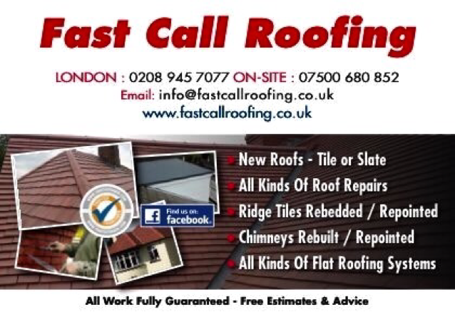 FAST CALL ROOFING