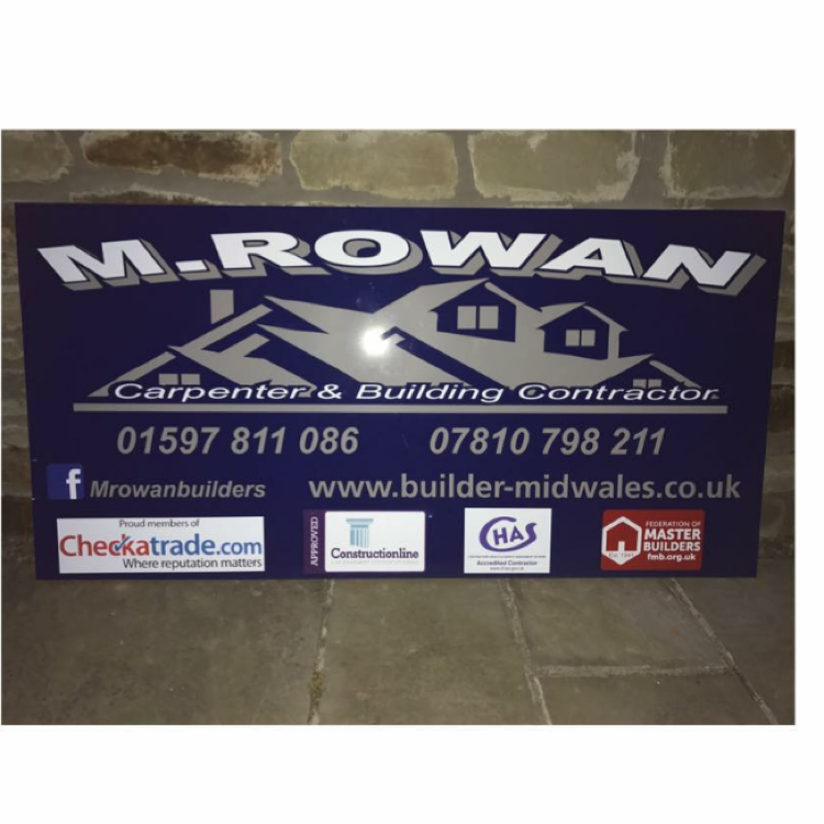 M Rowan Carpenter and Building Contractors