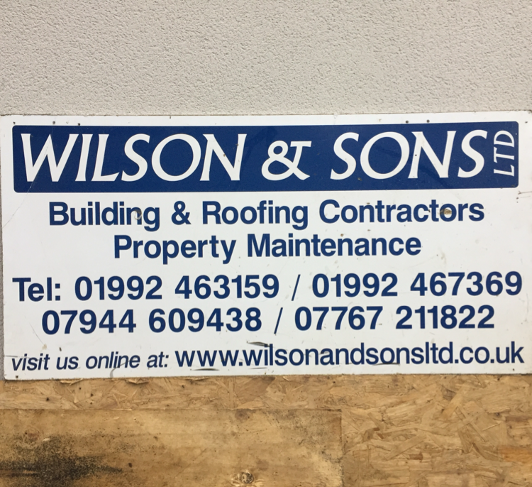 Wilson and Sons Ltd
