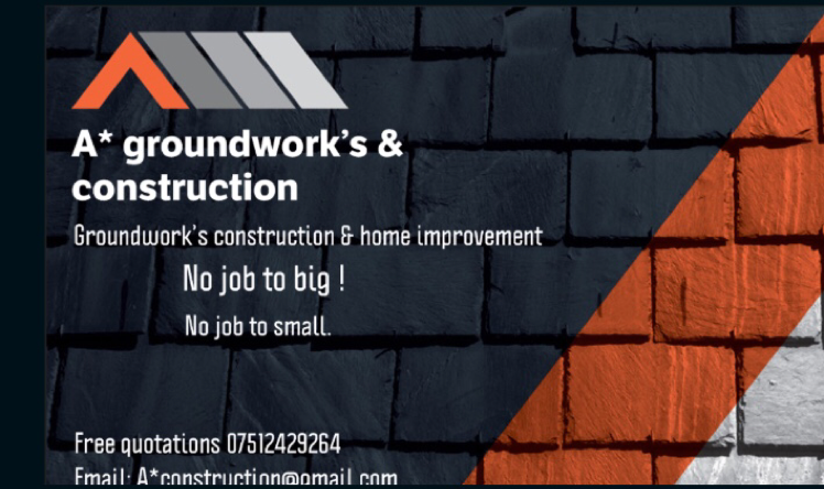 A* Groundworks & construction