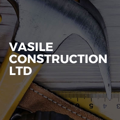 vasile construction ltd