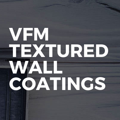 VFM Textured Wall Coatings