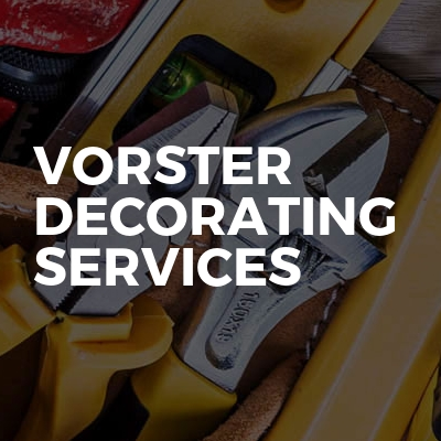 Vorster Decorating Services