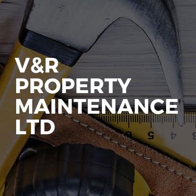 V&R property maintenance ltd