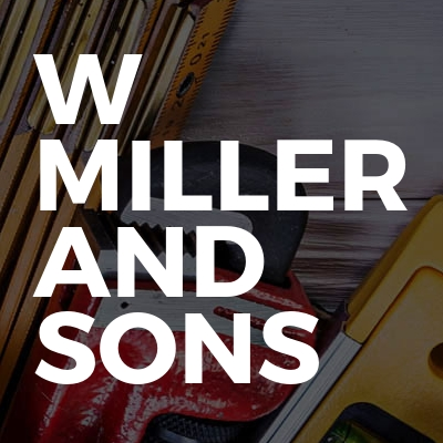 W Miller and Sons