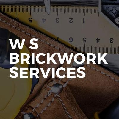 W S Brickwork Services