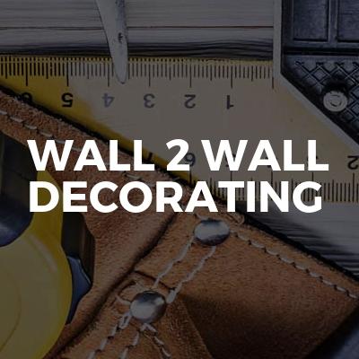 Wall 2 Wall Decorating