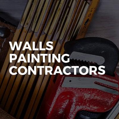 Walls painting contractors