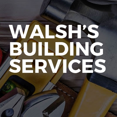 Walsh's Building Services