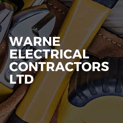 Warne Electrical Contractors ltd