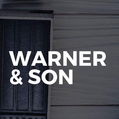 Warner & son