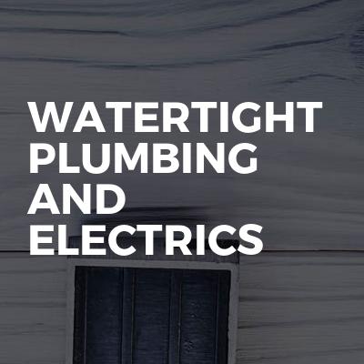 WaterTight plumbing and electrics