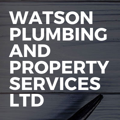 Watson plumbing and property services ltd