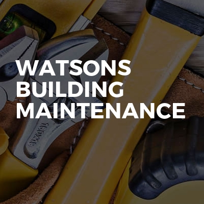 Watsons Building Maintenance