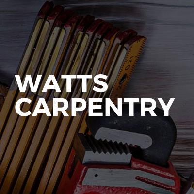 Watts Carpentry