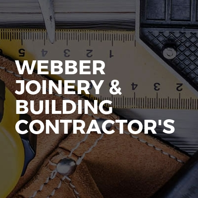 Webber Joinery & Building Contractor's
