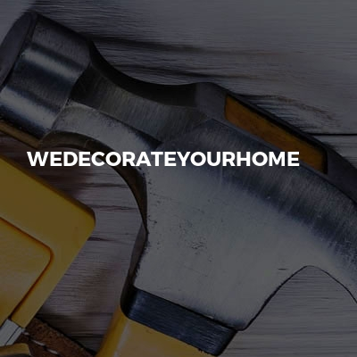 Wedecorateyourhome