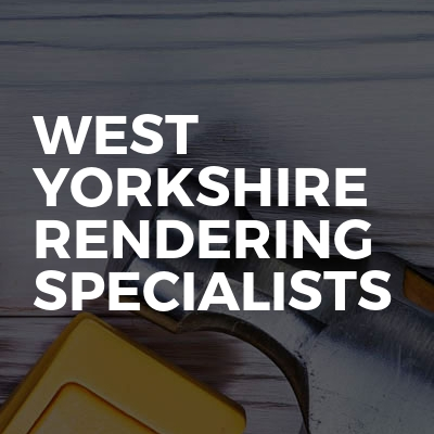 West Yorkshire Rendering Specialists