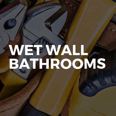 Wet Wall Bathrooms