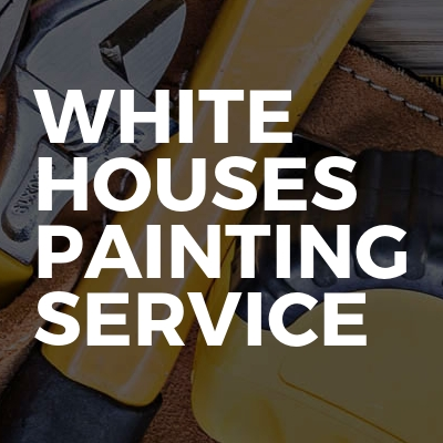 White houses painting service