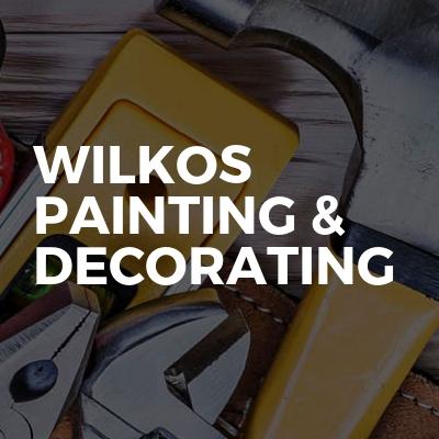 Wilkos painting & decorating
