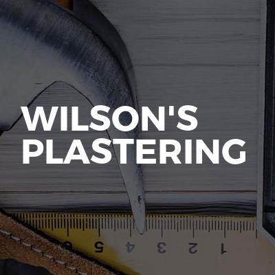 Wilson's Plastering