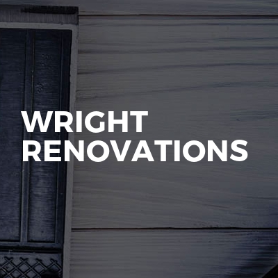 Wright renovations