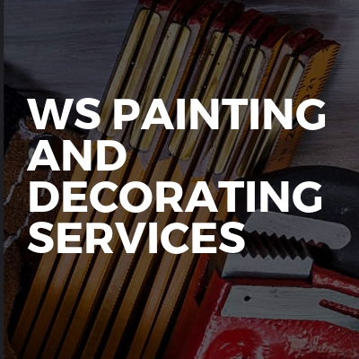 Ws painting and decorating services