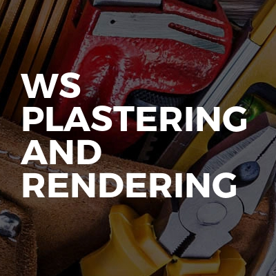 Ws plastering and rendering