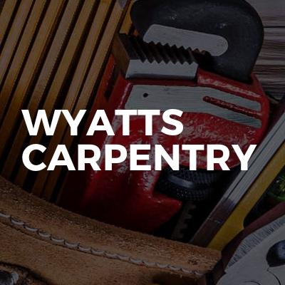 Wyatts carpentry