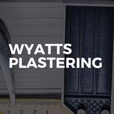 Wyatts Plastering