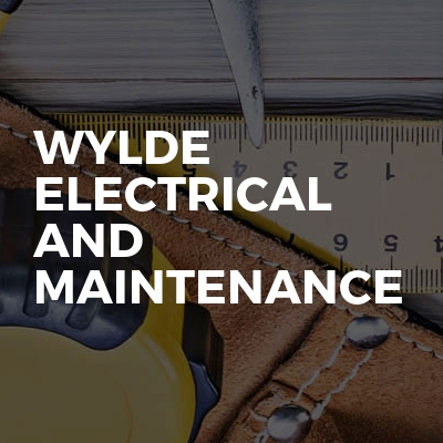 Wylde electrical and maintenance
