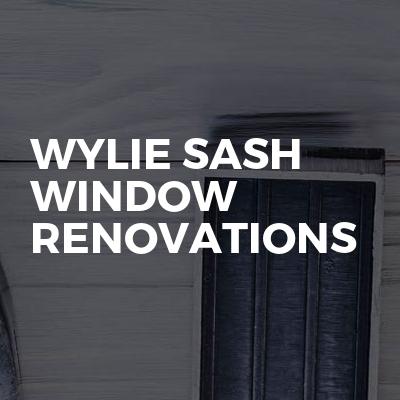 Wylie sash window renovations