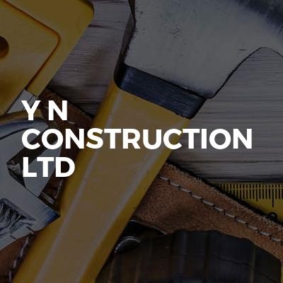 Y N CONSTRUCTION LTD