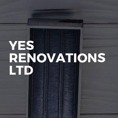 Yes Renovations ltd