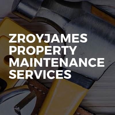 ZRoyjames Property Maintenance Services